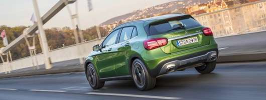 First drive: Mercedes-Benz GLA. Image by Mercedes-Benz.