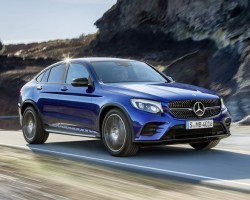 Incoming: Mercedes GLC Coupe. Image by Mercedes-Benz.