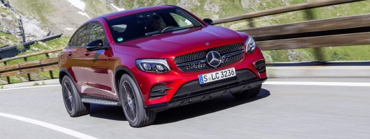 First drive: Mercedes-Benz GLC Coupe. Image by Mercedes-Benz.