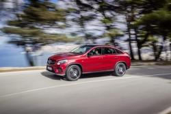 2015 Mercedes-Benz GLE. Image by Mercedes-Benz.