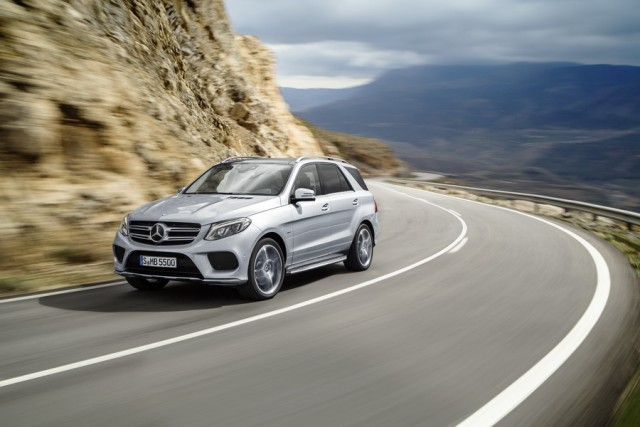 First drive: Mercedes-Benz GLE 500 e. Image by Mercedes-Benz.