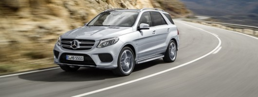 Mercedes renames ML SUV as GLE. Image by Mercedes-Benz.