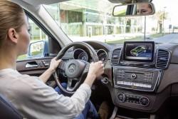 2015 Mercedes-Benz GLE 500 e. Image by Mercedes-Benz.