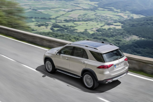 Driven: Mercedes-Benz GLE 300 d. Image by Mercedes AG.