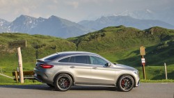 2015 Mercedes-AMG GLE 63 S Coupe. Image by Mercedes-AMG.
