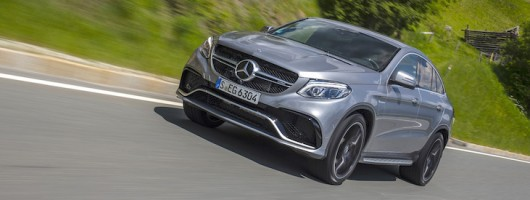 First drive: Mercedes-AMG GLE 63 S Coupé. Image by Mercedes-AMG.