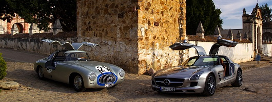 Feature Drive: SLS AMG on Carrera Panamericana. Image by Mercedes-Benz.