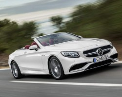 Massive luxury for massive Merc convertible. Image by Mercedes-Benz.