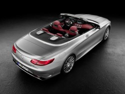 2016 Mercedes-Benz S-Class Cabriolet. Image by Mercedes-Benz.