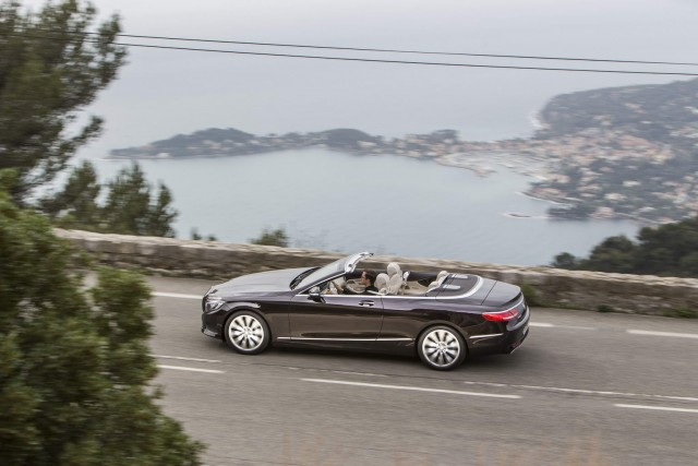 First drive: Mercedes-Benz S 500 Cabriolet. Image by Mercedes-Benz.