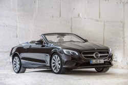 2016 Mercedes-Benz S 500 Cabriolet. Image by Mercedes-Benz.