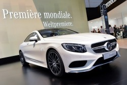 2014 Mercedes-Benz S-Class Coupe. Image by Newspress.