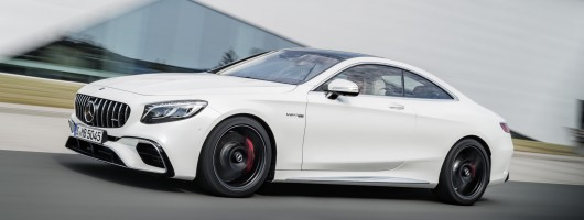 Mercedes confirms UK S-Class Coupe prices. Image by Mercedes.