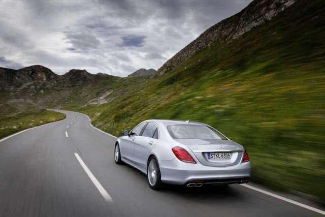 First drive: Mercedes-Benz S 63 AMG. Image by Mercedes-Benz.