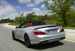 2012 Mercedes-Benz SL 63 AMG. Image by Mercedes-Benz.