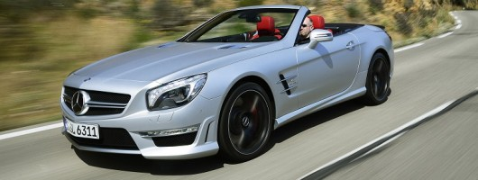 First drive: Mercedes-Benz SL 63 AMG. Image by Mercedes-Benz.