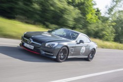2015 Mercedes-Benz SL 'Mille Miglia 417'. Image by James Lipman.