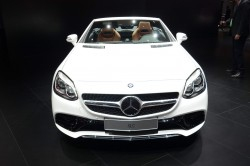 2016 Mercedes-Benz SLC. Image by Newspress.