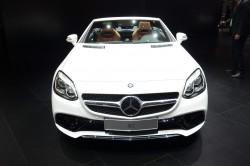 2016 Mercedes-Benz SLC. Image by Newspress.