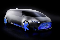2015 Mercedes-Benz Vision Tokyo concept. Image by Mercedes-Benz.
