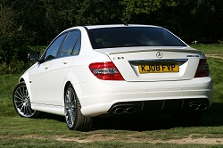 2008 Mercedes-Benz C 63 AMG. Image by Syd Wall.