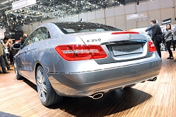 2009 Mercedes-Benz E-Class Coupé. Image by United Pictures.