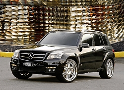 2008 Mercedes-Benz GLK at the SEMA Show. Image by Mercedes-Benz.