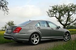 2009 Mercedes-Benz S-Class. Image by Alisdair Suttie.