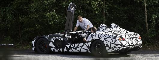 McMerc SLR 'speedster' spotted. Image by Stuttgartcarspy.