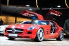2009 Mercedes-Benz SLS AMG.