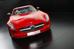 2009 Mercedes-Benz SLS AMG Gullwing. Image by Kyle Fortune.