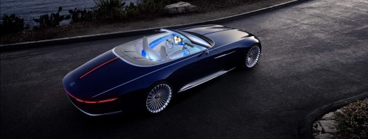 Maybach Vision 6 Cabriolet: haute couture at its finest. Image by Mercedes-Maybach.
