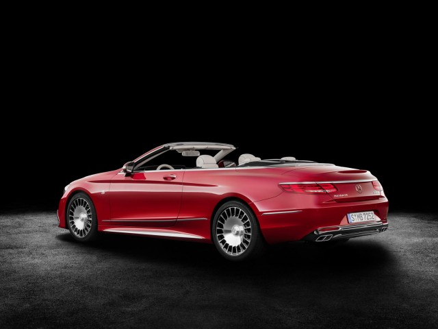 Maybach takes on the S-Class Cabriolet. Image by Mercedes-Maybach.