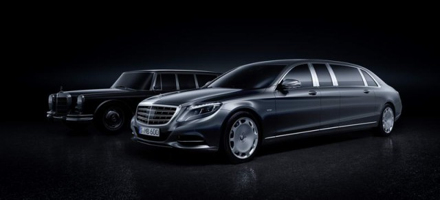 Pullman luxury returns to Mercedes-Maybach. Image by Mercedes-Maybach.