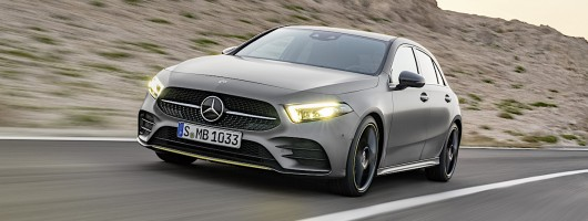 Driven: Mercedes A-Class. Image by Mercedes.