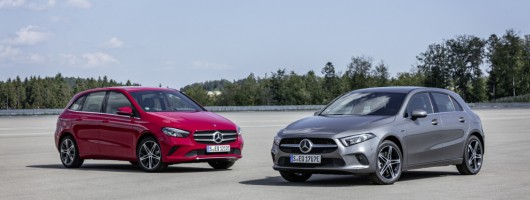 Mercedes PHEVs up A- and B-Class. Image by Mercedes AG.