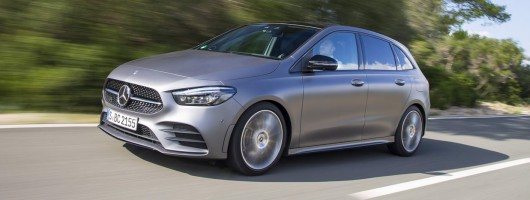 First drive: Mercedes-Benz B-Class. Image by Mercedes-Benz.