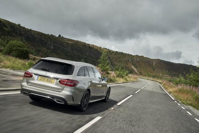 Driven: Mercedes-Benz C 220 d Estate. Image by Mercedes UK.