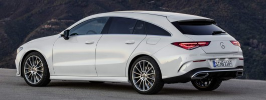 CLA Shooting Brake set to return, confirms Mercedes. Image by Mercedes-Benz.