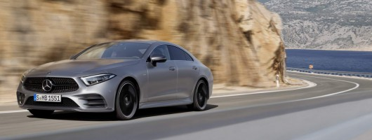 Third-gen Mercedes CLS is out. Image by Mercedes-Benz.