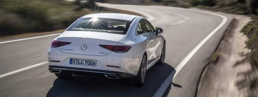First drive: Mercedes-Benz CLS 350 d 4Matic. Image by Mercedes-Benz.
