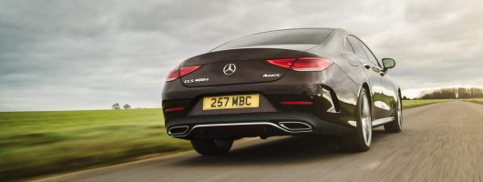 First UK Drive: Mercedes-Benz CLS 400 d. Image by Mercedes-Benz.