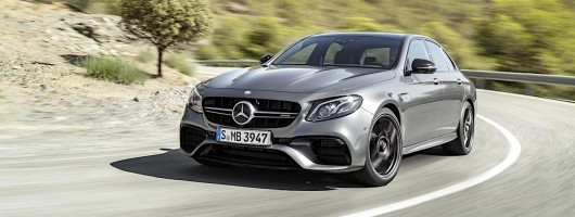 Mercedes-AMG E 63 prices announced. Image by Mercedes.