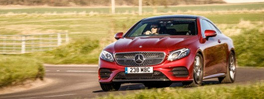 First UK Drive: Mercedes-Benz E 450 Coupe 4Matic. Image by Mercedes-Benz.