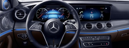 Mercedes reinvents (steering) wheel. Image by Mercedes AG.