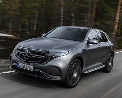 New electric Mercedes. Image by Mercedes-Benz.