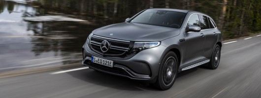 First drive: Mercedes-Benz EQC. Image by Mercedes-Benz.
