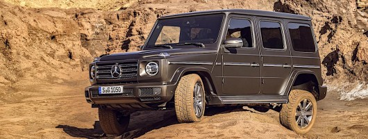 New Mercedes G-Wagen revealed. Image by Mercedes.