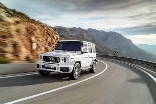 First drive: Mercedes-AMG G 63. Image by Mercedes-AMG.