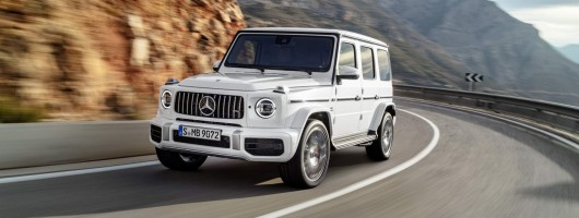 Mercedes-AMG unleashes 585hp G 63. Image by Mercedes-AMG.